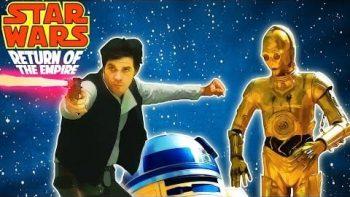 'Star Wars Return Of The Empire' Star Wars Disney Mash Up