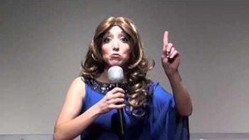 Girl Performs Celebrity Impressions Reel Singing 'Firework'