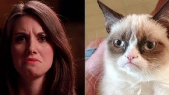 Alison Brie Imitates Popular Internet Memes