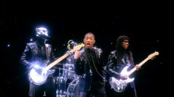 Daft Punk And Pharrell Star In 'Get Lucky' Teaser