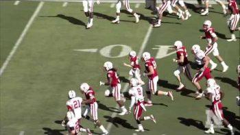 Boy Battling Cancer Scores Touchdown At Nebraska Spring Game