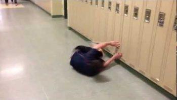 'Hallway Swimming' In Canadian High School