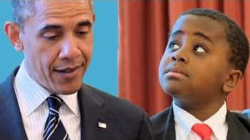 Kid President Meets President Barack Obama