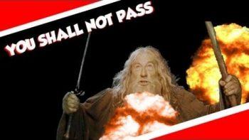 Gandalf Famous Sir Ian McKellen Says 'You Shall Not Pass' During Speech At High School