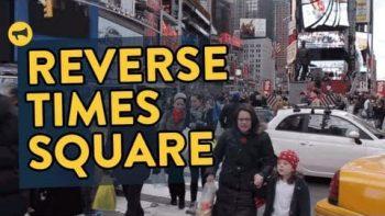 Reverse Times Square Prank