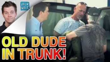 Old Man In The Trunk At The Car Wash Prank