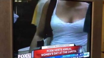Local Fox CT Show File Footage Focused On Women's Chests While Reporting On Women's Day
