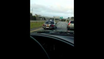 N. Carolina Sheriff Stops Short In Front Of Truck After Holding Up Traffic