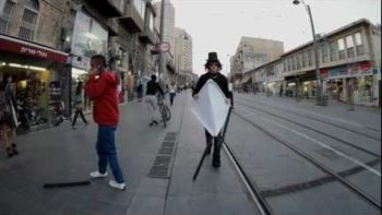 'Forward' Short Film – Man Walking Backwards Through Downtown In Reverse