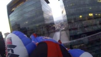 Urban Wingsuit Flying Over Rio de Janeiro