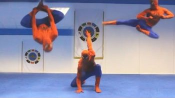 Taekwondo Spiderman