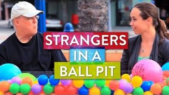 Take A Seat In Ball Pit In Public, Make A Friend