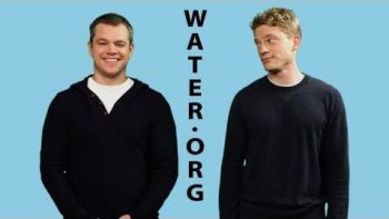 Matt Damon And John Elerick Compete To Save Water