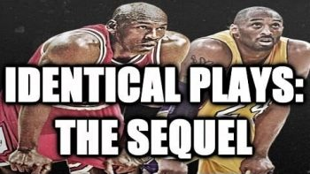 Kobe Bryant And Michael Jordan Have Identical Plays Part 2