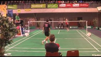 Amazing Badminton Volley By Julien Maio