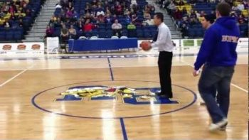 Coach Scores Half Court Shot To Win Scholarship For Student