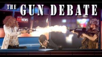 The Gun Debate Rap News