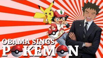 Barack Obama Singing Pokemon Theme Song