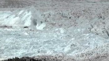 Largest Glacier Breaking, Calving Ever Caught On Film