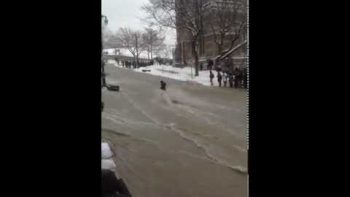 Student Swept Away By Flooding McGill University