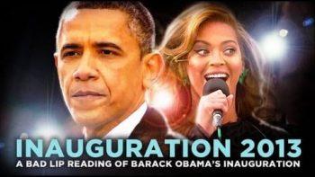 Bad Lip Reading Of Inauguration 2013