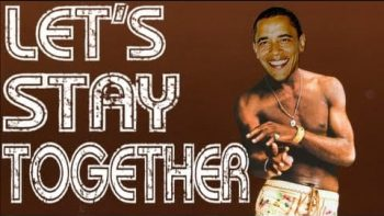 Obama Sings Let's Stay Together Auto Tune Remix