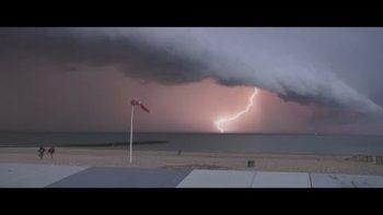 Incredible Dark Storm Clouds In Belguim
