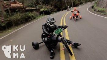 Trike Drifting In Taiwan
