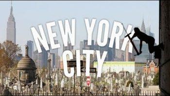 Extreme Pogo Sticking In New York City