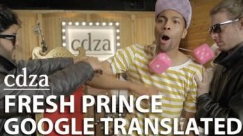 Fresh Prince Theme In Google Translate
