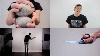 Rock Paper Scissors Rap Song