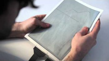 PaperTab Is A Real Paper-Like Tablet Computer Commercial