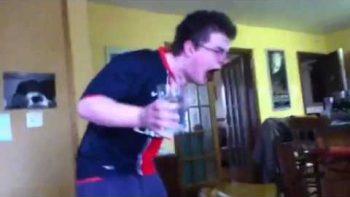 Irish Dad Rebukes Son Who Fails Cinnamon Challenge