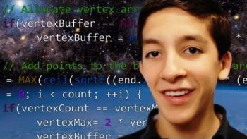 14 Year Old Prodigy Computer Programmer Santiago Gonzalez Dreams In Code