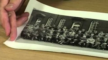 Student Appears Twice In Multi-Exposure College Class Photograph Prank