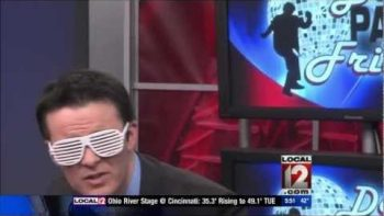 Cincinnati Traffic Anchor Bob Herzog Best Dance Party Fridays Compilation