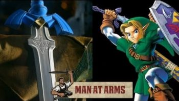 Blacksmith Replicates Link's Master Sword