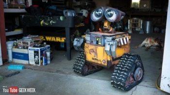 Real Life-Size Wall-E Robot