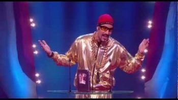 Ali G Wins British Comedy Awards 2012