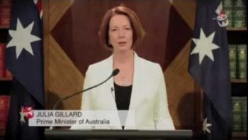 Australian Prime Minister Julia Gillard 2012 Mayan End Of The World Speech