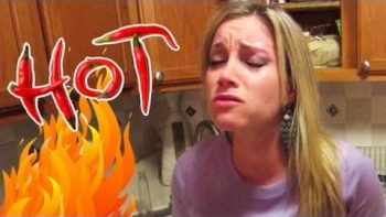 Boyfriend Pranks Girlfriend Adding Super Hot Pepper Extract To Her Sushi Dinner