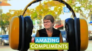 Give And Get A Compliment On The Street