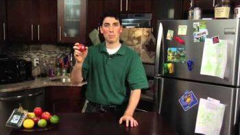 Super Awkward Guy 'Fruit Reviews' An Apple