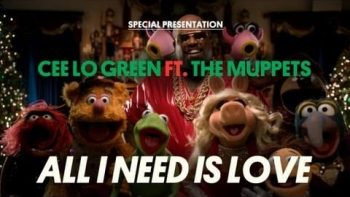CeeLo Green Performs All I Need Is Love With The Muppets