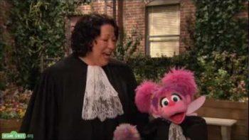 Sonia Sotomayor On Sesame Street