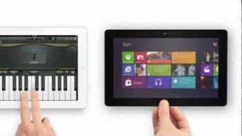 Surface VS iPad Commercial Parody