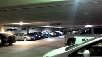 Gangnam Style Dance Party On Parking Garage Roof Causes Ceiling To Visibly Shake
