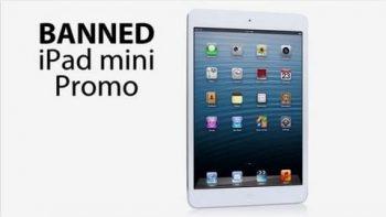 Banned iPad mini Promo