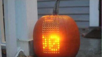 Jack-O-Lantern Pumpkin Tetris