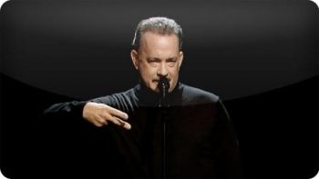 Tom Hanks Performs 'Full House' Slam Poem
